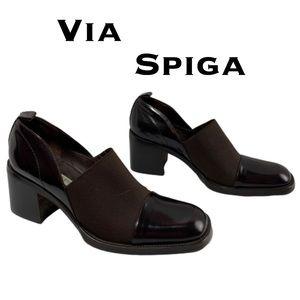 Via Spiga Square Heel Shoes Size 6